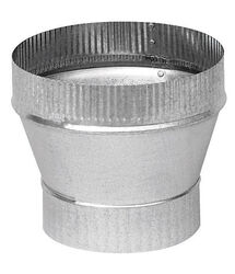 Imperial  4 in. Dia. x 5 in. Dia. Galvanized Steel  Furnace Pipe Reducer