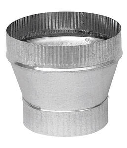 Imperial  4 in. Dia. x 5 in. Dia. Galvanized Steel  Stove Pipe Increaser