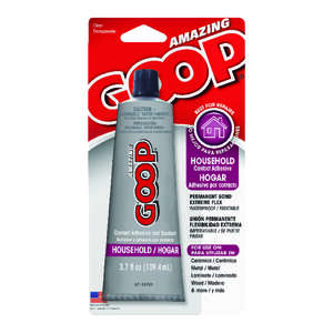 Goop  Household  High Strength  Liquid  Household Contanct Adhesive  3.7 oz.