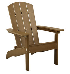 Living Accents  1 pc. Sand  Resin Frame Adirondack  Chair