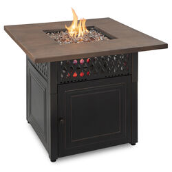 Endless Summer  Donovan  Transitional  Propane  Fire Pit  31 in. H x 38 in. W x 38 in. D Steel