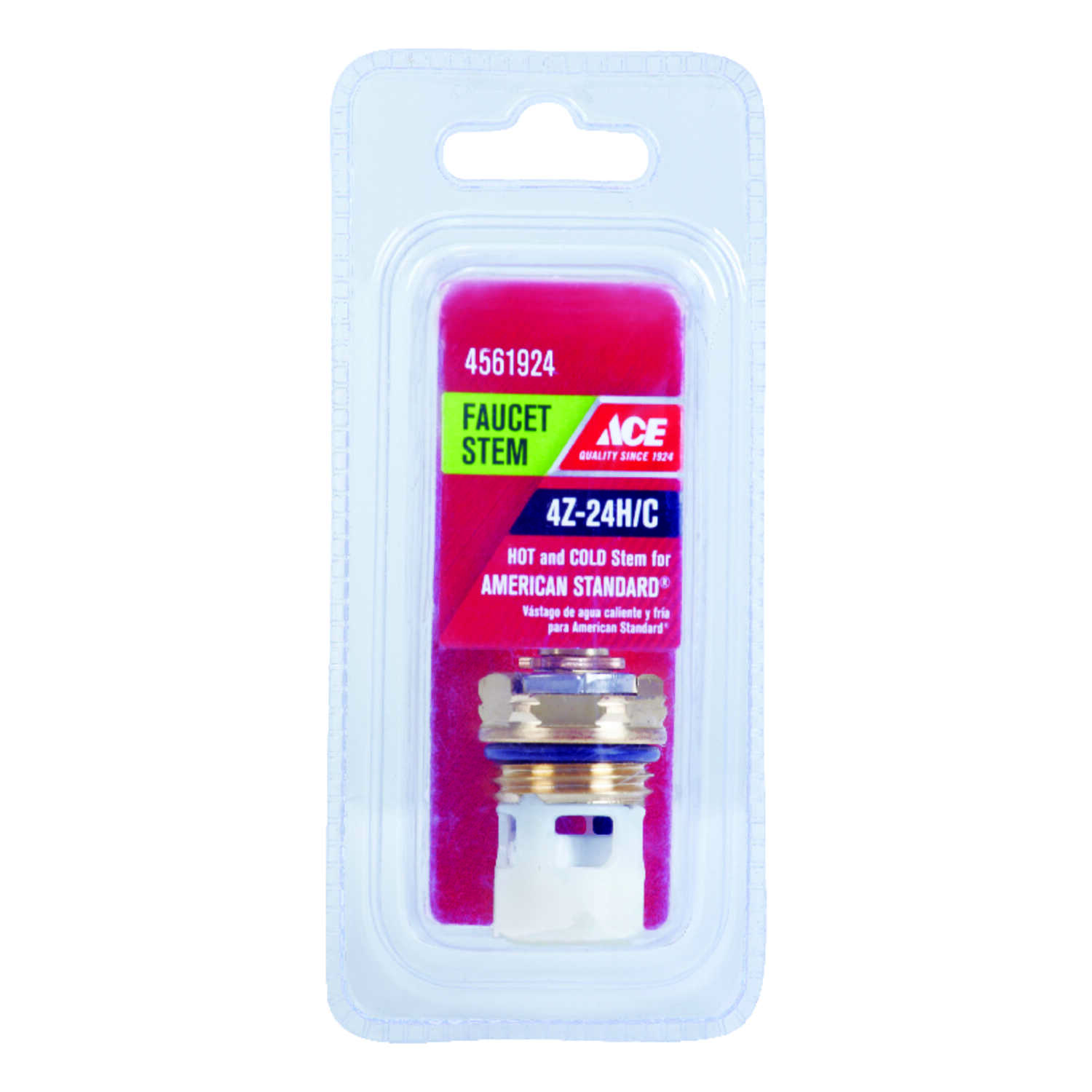 Ace  Hot and Cold  4Z-24H/C  Faucet Stem  For American Standard
