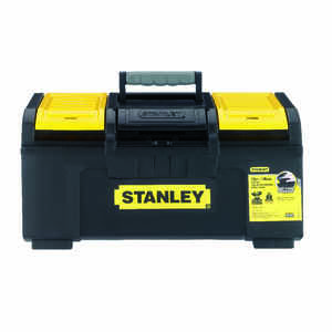 Stanley  19 in. 9 in. H x 10 in. W Tool Box  Foam  Black