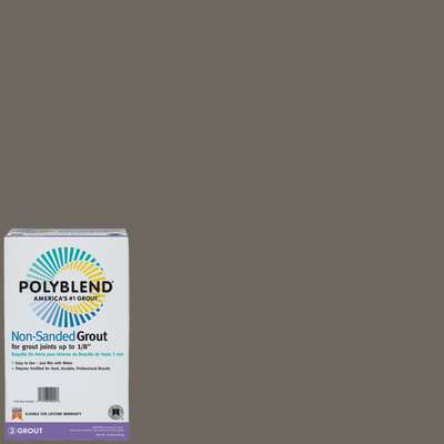 Custom Building Products Polyblend Indoor and Outdoor Natural Gray Grout 10 lb.