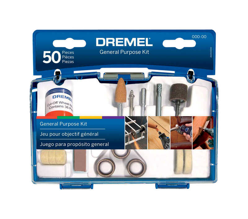 Dremel  7 in   x 7 in. L Metal  General Purpose Kit
