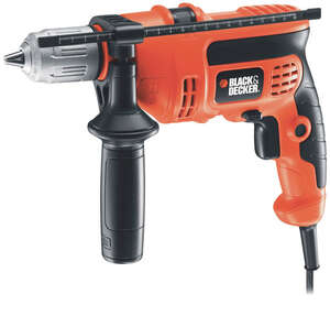 Black and Decker  1/2 in. Keyed  Corded Combination Hammer Drill  6 amps 2800 rpm