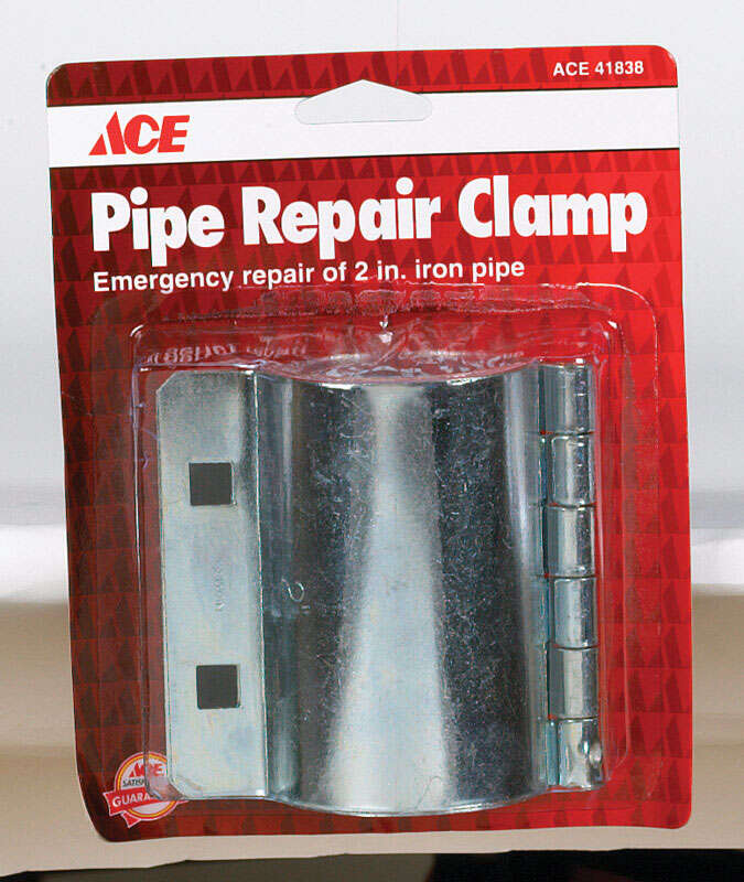Ace  2 in. Steel  Pipe Clamps