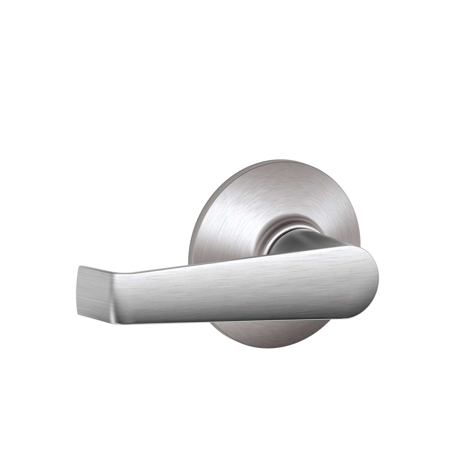 Schlage Elan Satin Chrome Passage Lockset ANSI Grade 2 1-3/4 in.