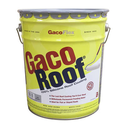 GacoFlex  Gray  Silicone  Roof Coating  5 gal.