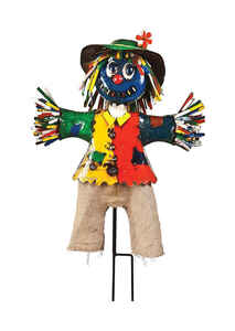 Think Outside  Metal Boo Scarecrow  Halloween Decoration  56 in. H x 34 in. W x 14 in. L 1 pk
