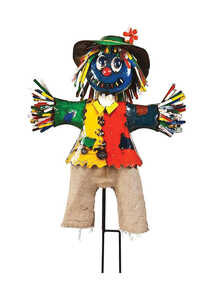 Think Outside  Metal Boo Scarecrow  56 in. H x 34 in. W x 14 in. L 1 pk Halloween Decoration