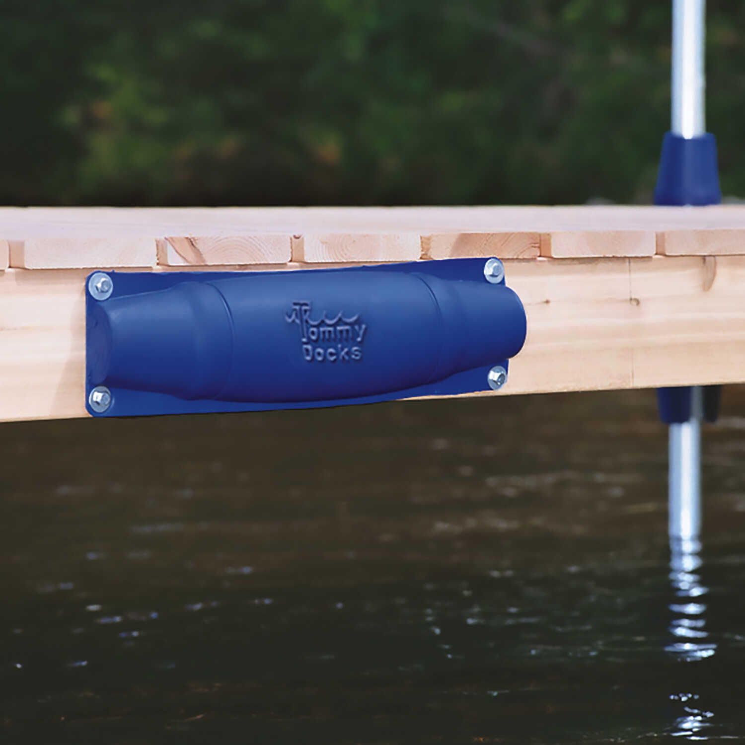 Tommy Docks  Blue  PVC  Straight Dock Bumper