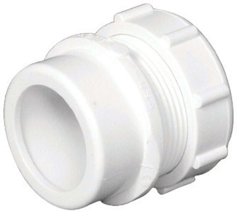 Charlotte Pipe  Schedule 40  1-1/2 in. Slip   x 1-1/4 in. Dia. Slip  PVC  Trap Adapter