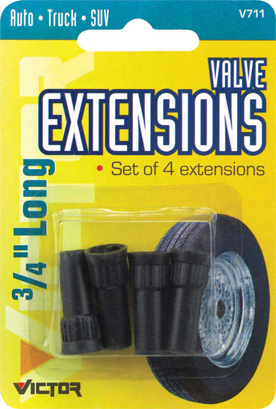 Victor  ABS Plastic  60 psi Tire Valve Extension