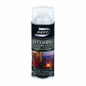 Deft  Defthane  Semi-Gloss  Clear  Polyurethane Spray  11.5 oz.
