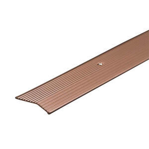 M-D Building Products  36 in. L Prefinished  Silver  Aluminum  Carpet Trim