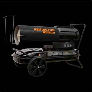Remington  3800 sq. ft. Multiple  Fan Forced  Portable Heater  220000 BTU