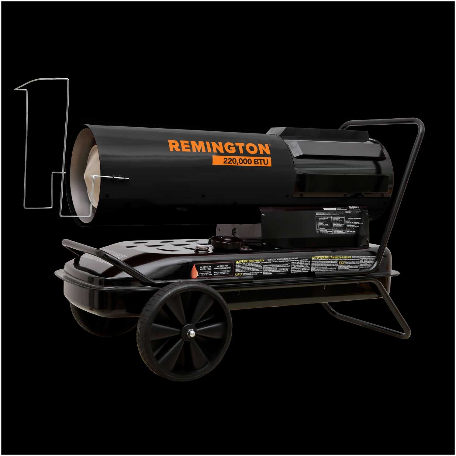 Remington  3800 sq. ft. Multiple  Forced Air  Portable Heater