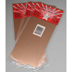 K&S 0.025 in. x 4 in. W x 10 in. L Copper Sheet Metal