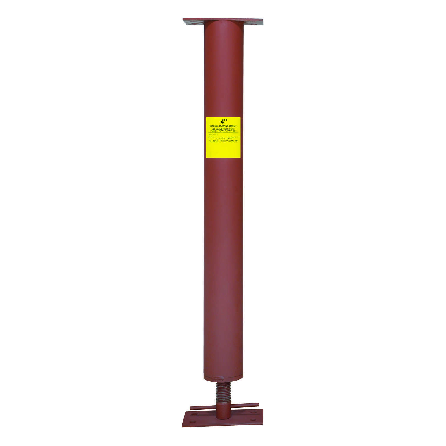 Marshall Stamping  Extend-O-Columns  4 in. Dia. x 97 in. H Adjustable Building Support Column  25800