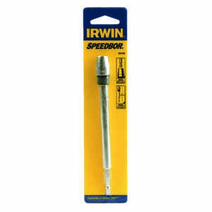 Irwin  6 in. Steel  Power Bit Extension  1/4 in. Quick-Change Hex Shank  1 pc.