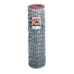 Red Brand  Square Deal  48 in. H x 100 ft. L Steel  Horse  Fence  Silver