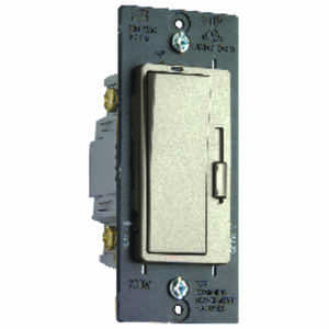 Pass & Seymour  Nickel  700 watts Three-Way  Dimmer Switch