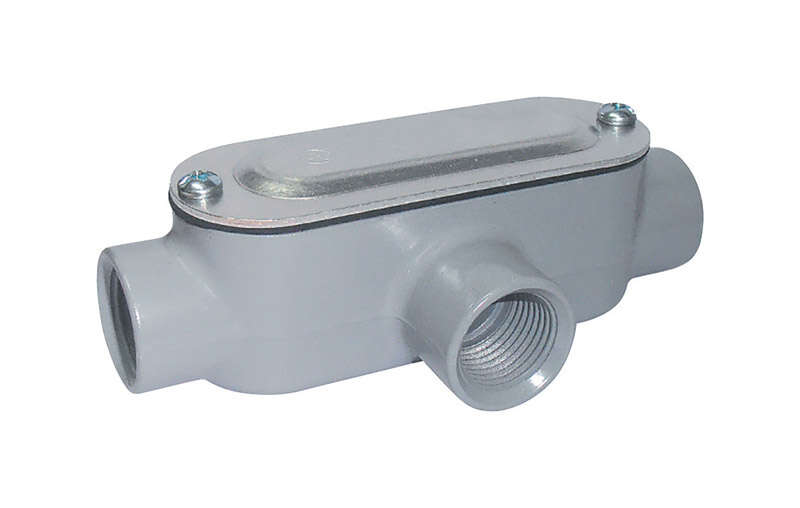 Sigma  3/4 in. Dia. Conduit Body  Die-Cast Aluminum