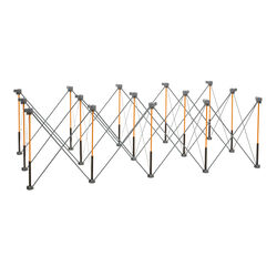 Centipede 30-1/2 in. H x 48 in. W x 96 in. D Adjustable Expandable Sawhorse 3000 lb. capacity Gray