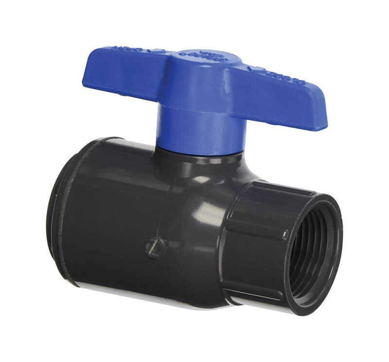 Spears  Ball  Utility Ball Valves  1/2 in. FPT   x 1/2 in. Dia. FPT  PVC