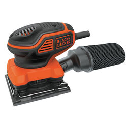 Black and Decker  2 amps 120 volt Corded  1/4 Sheet  Finishing Sander  Bare Tool  16000 opm