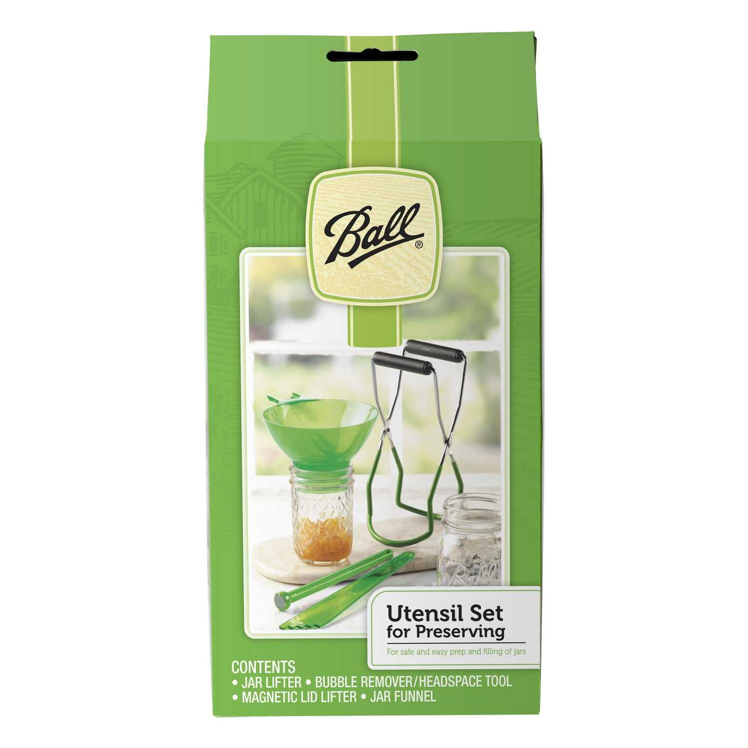Ball  Wide Mouth  Canning Utensil Set  4 pk