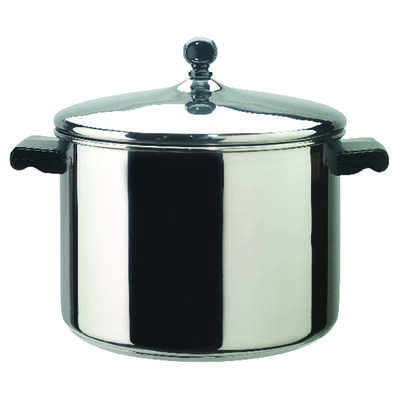 Farberware  Classic Series  Stainless Steel  Stock Pot  8 qt. Silver