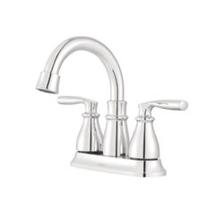 Moen  Hilliard  Chrome  Two Handle  Lavatory Faucet  4 in.