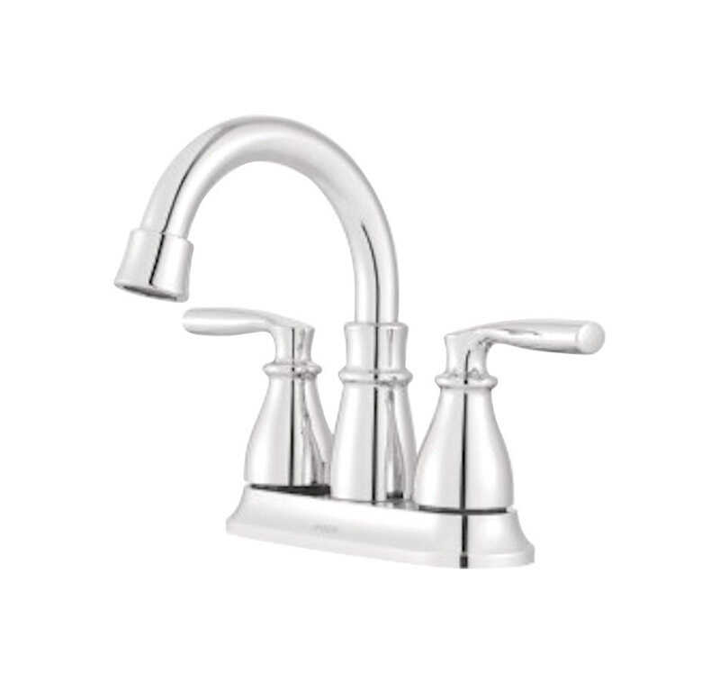 Moen  Hilliard  Two Handle  Lavatory Faucet  4 in. Chrome