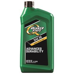 Quaker State  Peak Performance  HD-30  4 Cycle Engine  Heavy Duty  Motor Oil  1 qt.