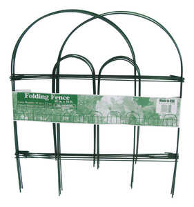 Glamos Wire  18 in. H x 10 ft. L Steel  Garden Fence