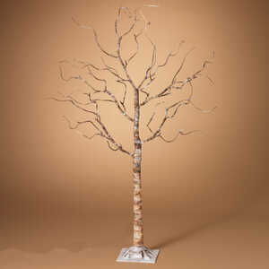 Gerson  LED Birch  Tree  White  1 pk Birch