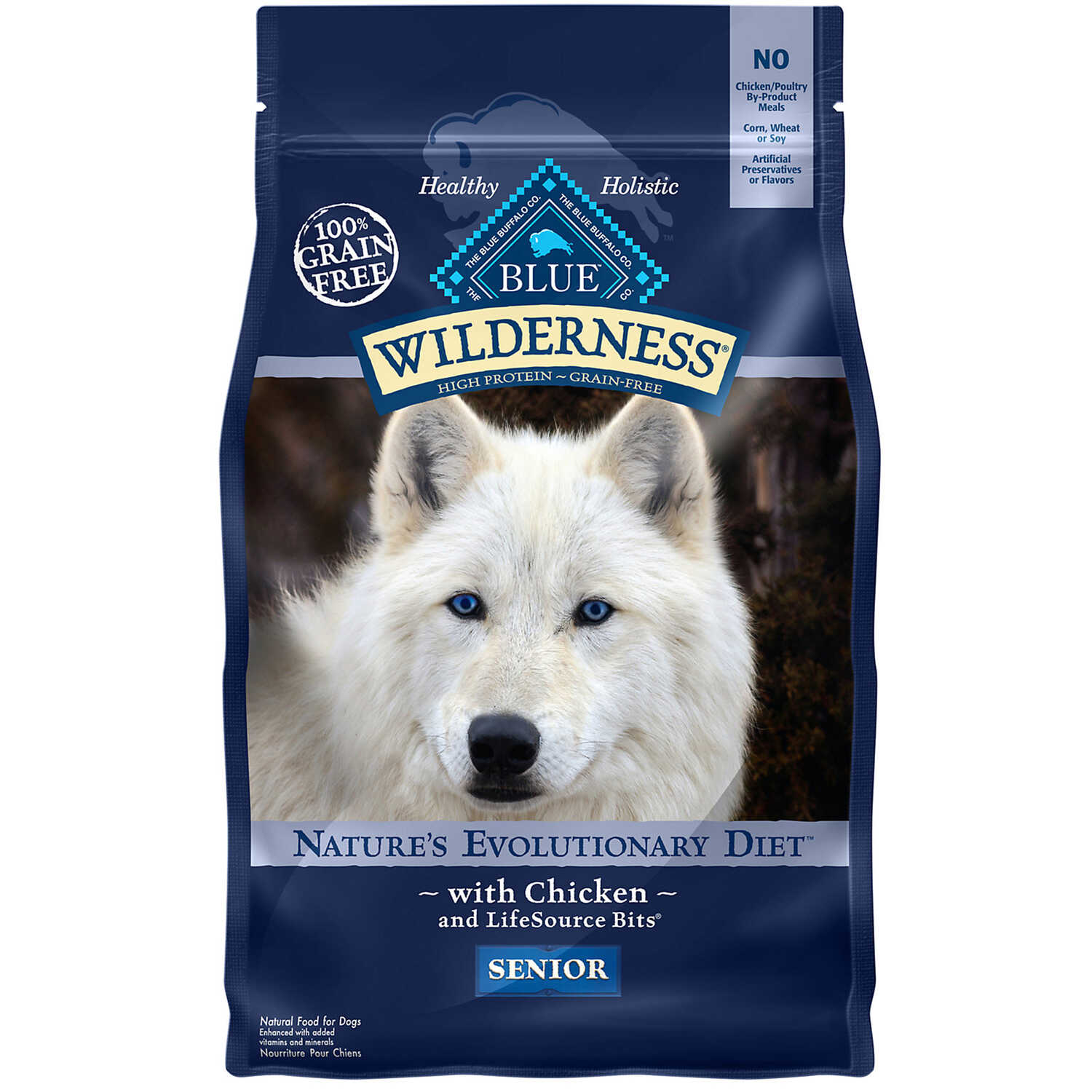 Blue Buffalo  Blue Wilderness  Chicken  Dry  Dog  Food  Grain Free 4.5 lb.