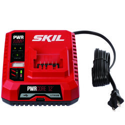 Skil  PWRCore 12  12 volt Lithium-Ion  Battery Charger  1 pc.