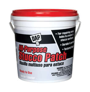 DAP  All-Purpose Stucco  Ready to Use White  Patch  1 gal.