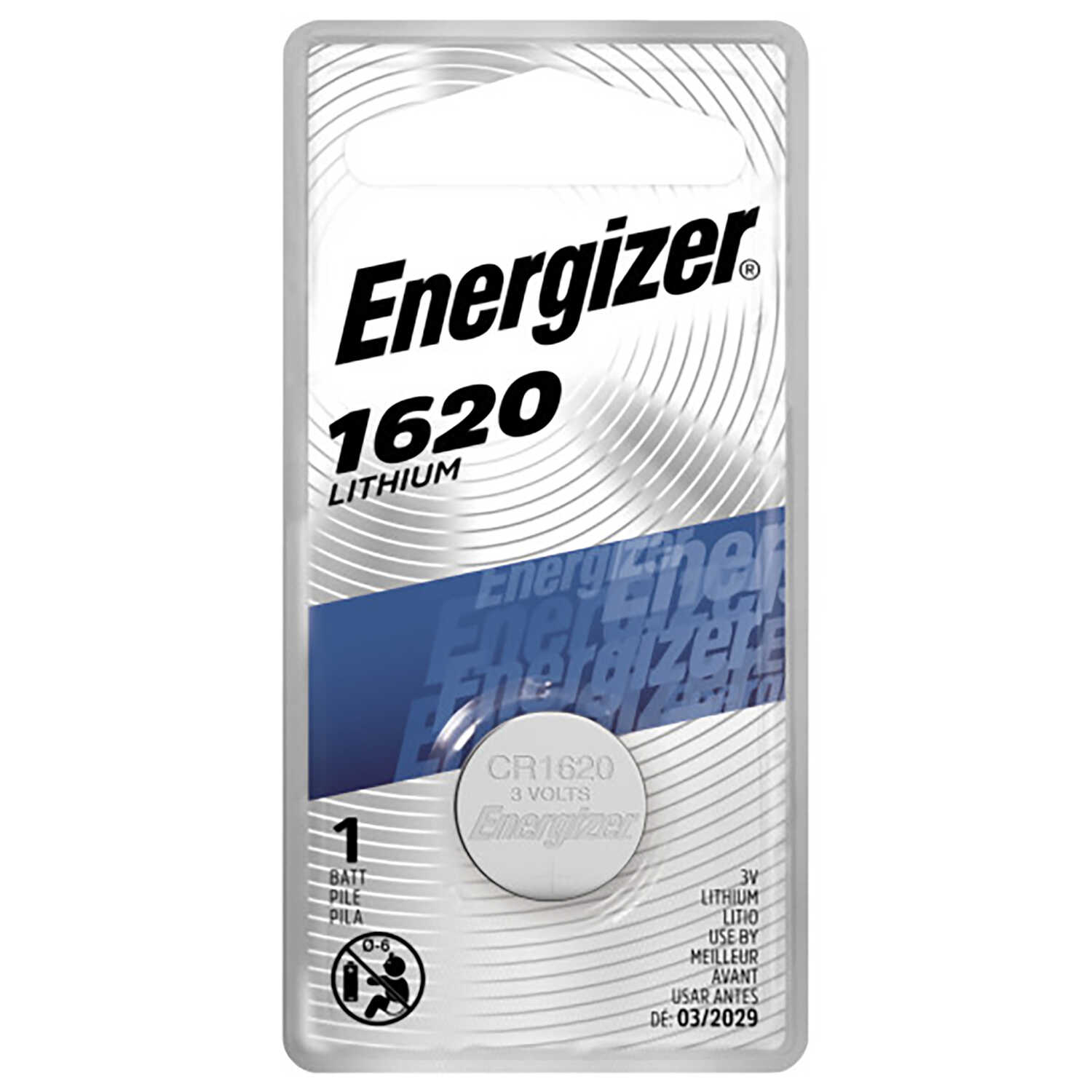 Energizer  Lithium  1620  3 volt Keyless Entry Battery  1 pk
