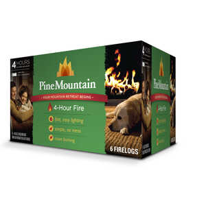 Pine Mountain  Fire Log  6 pk