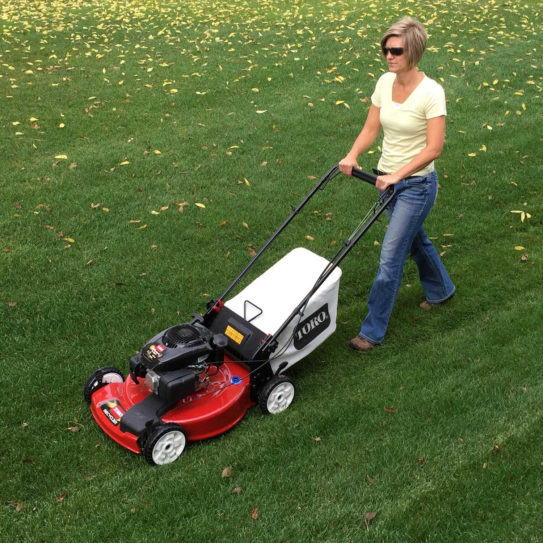 Toro 22 in  W 149 cc Self-Propelled Mulching Capability Lawn