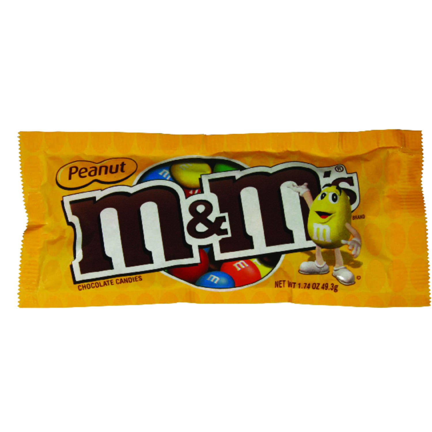 M&M's  Peanut  Chocolate Candies  1.74 oz.