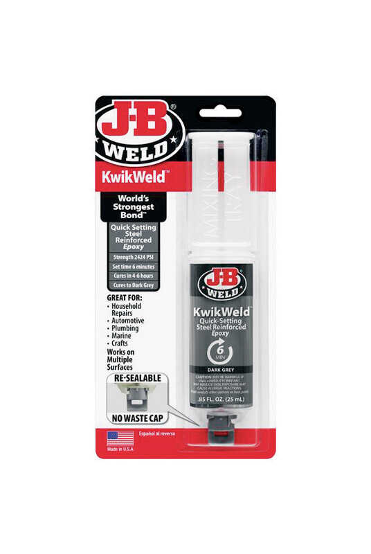 J-B Weld  Kwik Weld  High Strength  Liquid  Automotive Epoxy  0.85 oz.