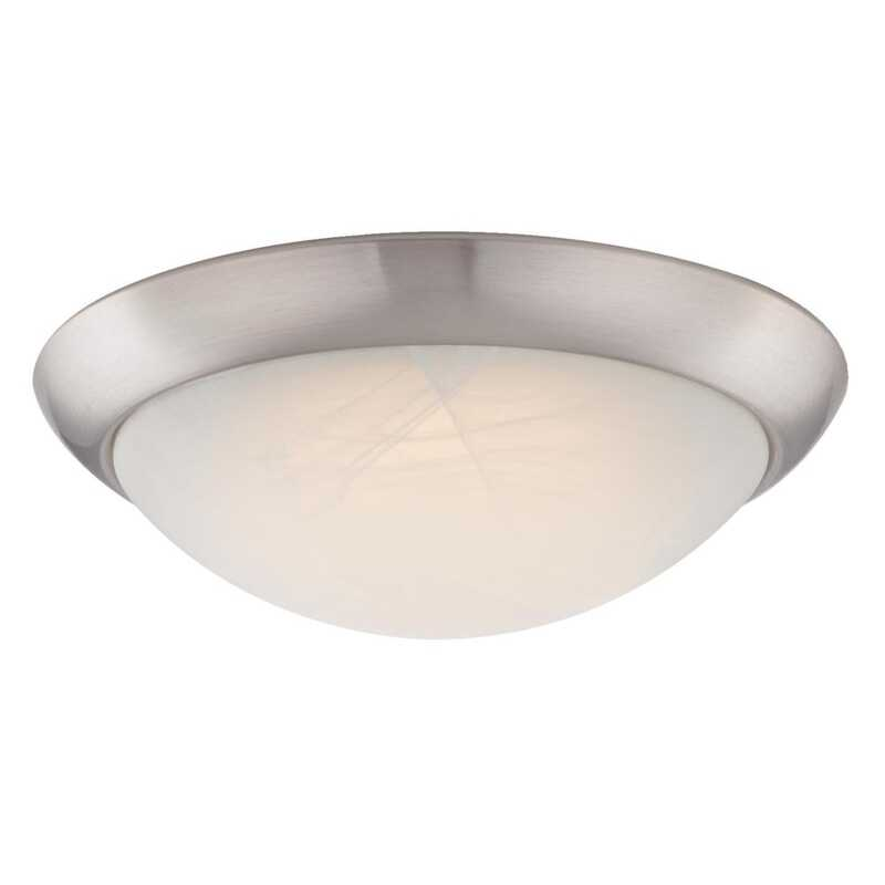 Westinghouse  11 in. W x 11 in. L x 3.46 in. H Ceiling Light