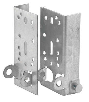 Prime-Line  1-5/16 in. W x 2-3/4 in. L Steel  Bracket