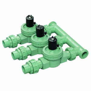 Orbit  3 Valve Preassembled Manifold  3/4 in. 150 psi