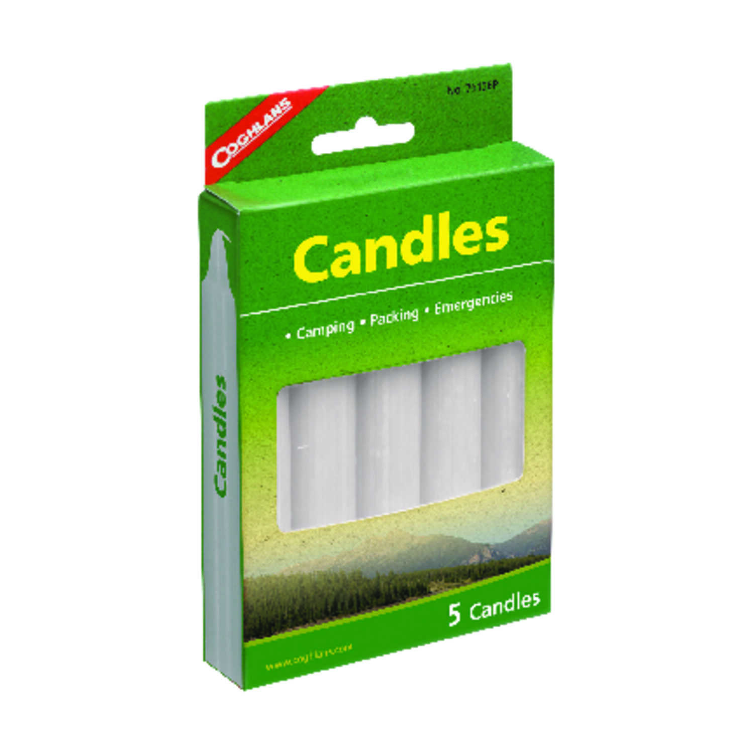 Coghlan's  Candles  6.000 in. H x 3/4 in. W x 5 in. L 5 pk
